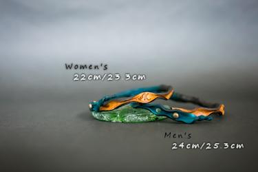 レザーアンクレット/サイズ/Women's/Men's