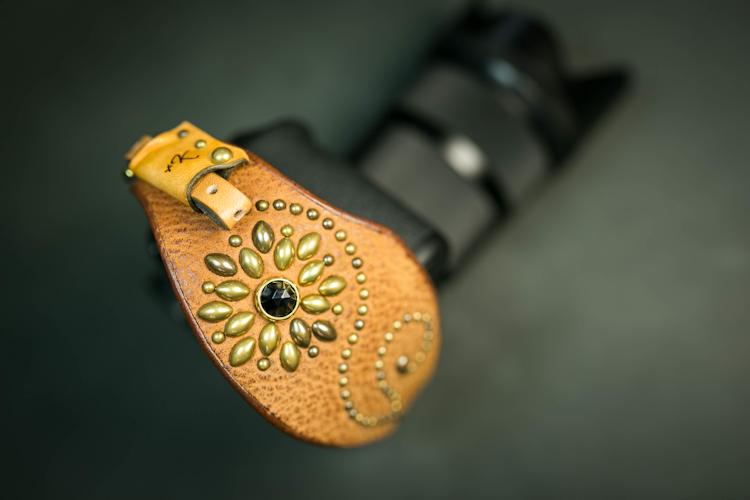 レザーカメラハンドストラップ/デジタル一眼レフカメラ仕様